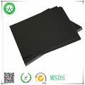 Folhas de papel duplex de papel cartão preto