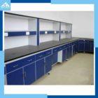 Education Chemical Lab Furniture Acid Alkali Resistance Work Table Lab Sink Steel Cabinet Lab Equipment