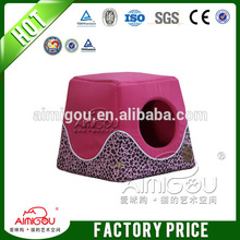 lovely cat bed / red waterproof wholesale dog house