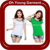 Hot Sale Ladies Printed Crew Neck Fashion T-Shirts ,Ladies Slim Fit T-Shirts