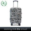 newest and beautiful pattern abs pc trolley luggage bags