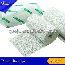 20-110 ISO CE FDA Certificate orthopedic plaster of paris cast bandage