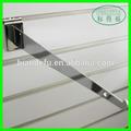 slatwall de metal colgando para soporte de soporte del estante