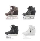 2015 inner wedge sneakers women boots