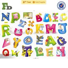 A A-Z Alphabet&Animals Removable Wall Sticker Decals Decor Nursery Kids
