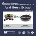 100% watersoluble polvo del extracto de la baya acai energy drink