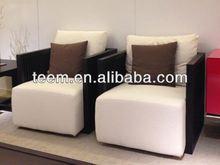 2014 Fashionable top sale modern furniture fabric chaise lounge sofa D-36-3