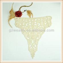 Hotsale neck design for ladies suits/high quality cotton collar design