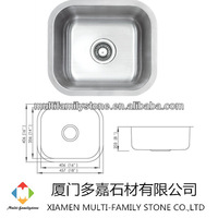 used undermount kitchen stainless steel sink UD-08