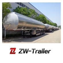 30cbm 2axle truck aluminum fuel tanks on sale