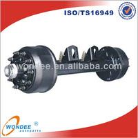 Factory Heavy Duty Wagon Wheels and Axle
