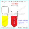 Plastic wire padlock KD-203 Plastic Padlock Seals