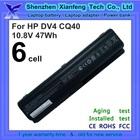 10.8v 47wh laptop battery for HP CQ60 CQ70 EV06 batery