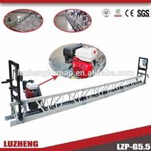 LUZHENG Honda Vibratory truss screed concrete smoother/concrete leveling machine