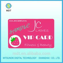 Plastic Membership VIP Card