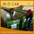 Andamios de madera tablón