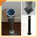 de metal galvanizado poste de acero