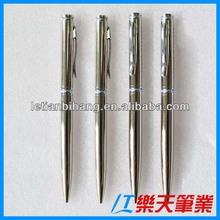 LT-W389 Slim metal pen twist ball pen slim