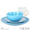 fine Color Stripe Handpainting dinnerware set fine china dinnerware set