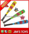 2014 Hot sell item funny and colourful outdoor toys sponge wholesale cheap baseball bat