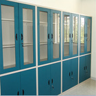 Full Stee Glass Display File Cabinet