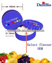 Cinnamon flavour in Click Clack Tin case OEM private label Sugar Free mints