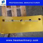 Brand new manganese steel heat treated motor grader blade,grader end bit,grader cutting edge