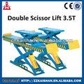 élévatrice à ciseaux double 3.5t/élévatrice à ciseaux/nacelles à ciseaux hydraulique