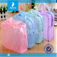 women jeans fabric Cosmetic Bag multi-function Make up bag with zipper closure for promotion gifts