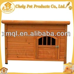 Luxury Asphalt Roof Wooden Dog Kennel For Large Dogs