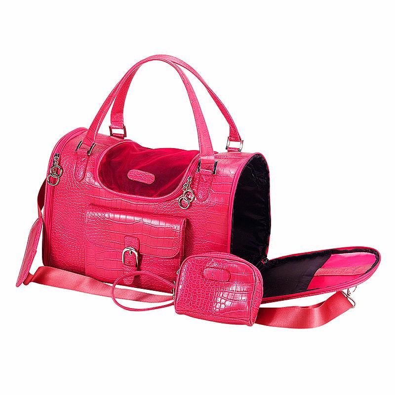 Soft Portable Dog Crocodile Carrier Pet Travel Bag