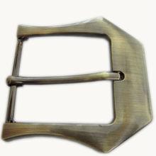 Antique brass metal military belt buckle