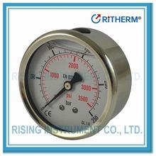 12010632 oil filled pressure gauge