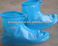 PVC rain cover for shoes rain boot cover