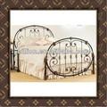 china bellas calidad cama de hierro forjado
