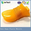 flat plastic whistle for promotion promotional swimming whistle plastic duck whistle