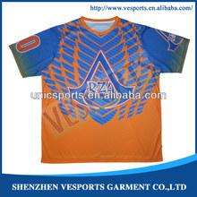 Dye sublimation baseball softball jerseys