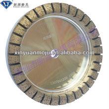 Diamond glass grinding wheel sintered metal bond for glass