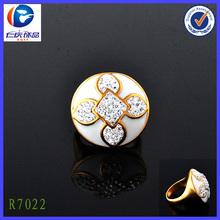 Pretty oro y anillos de bodas de diamante anillos de palomas venta