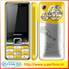 Q008 2.4inch 3 sim cheap mobile phone Quadband metal phone