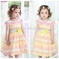 Excelente qualidade de vestuárioinfantil e desgaste do miúdo, verão sundress 2014, verão menina vestido bebê vestido