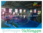 2014 cheap crazy fun clear inflatable colored water balls floating inflatable water hamster balls for kids and adults