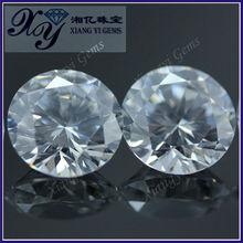 low price hot sale machine cut round brilliant cut man-made diamond