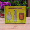 Home fragrance reed diffuser packaging with room spray set