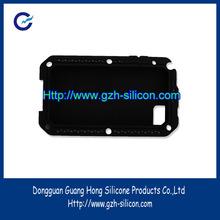Customized high quality stylish bear shape silicone mobile phone case