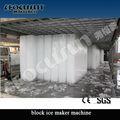 bloco de gelo industrial que faz a máquina preço