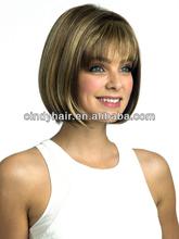 Cindy hair provide dark roots human hair blonde wigs