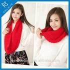 Winter warm scarf 100% acrylic infinity scarf