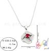 2014 special design attractive beautiful shiny bridal silver necklace wholesale