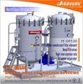 Jy-dfs30 de alto flujo diesel purificación del filtro/de combustible diesel sistemas de filtración/separadores de agua